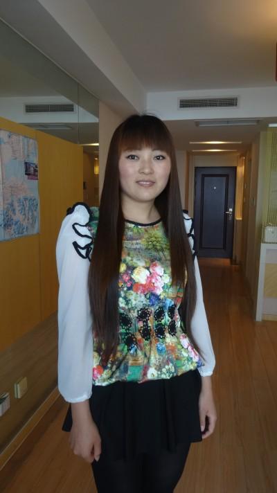 チチハル生まれの中国人女性20代
