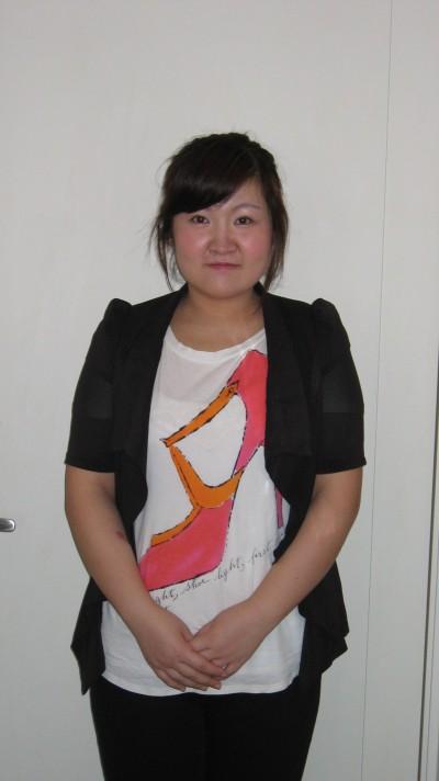 穏やかな性格の在日中国女性20代