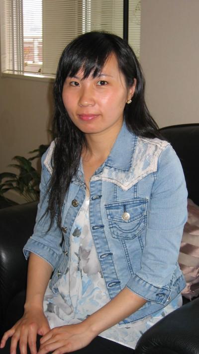 素朴な在日中国女性20代