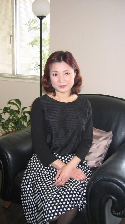 気品のある在日中国女性40代