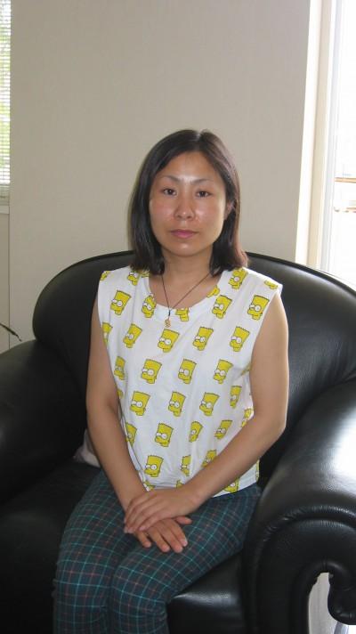 素直な在日中国女性30代