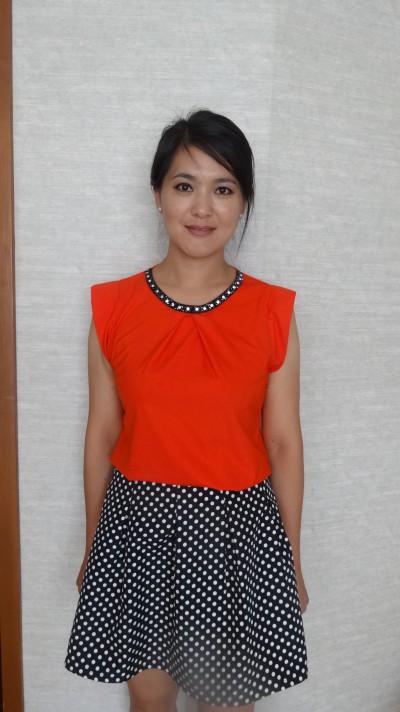 兵庫県に研修経験のある中国女性30代