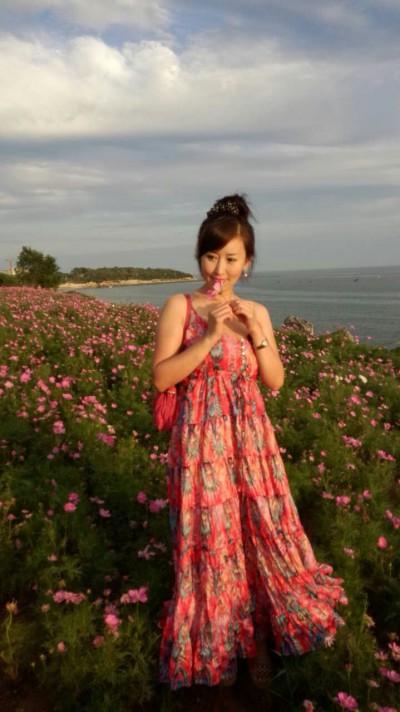 日本へ旅行経験のある綺麗な中国女性30代