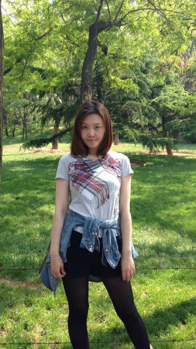 自然が好きな中国女性30代