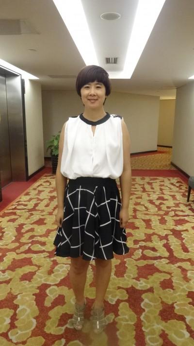 大阪に研修経験がある中国女性30代