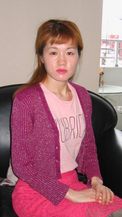 大人しい在日中国女性20代