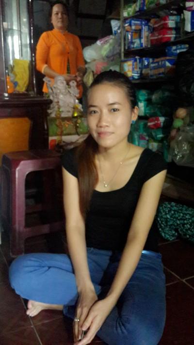 大人の雰囲気を持っているベトナム人女性20代