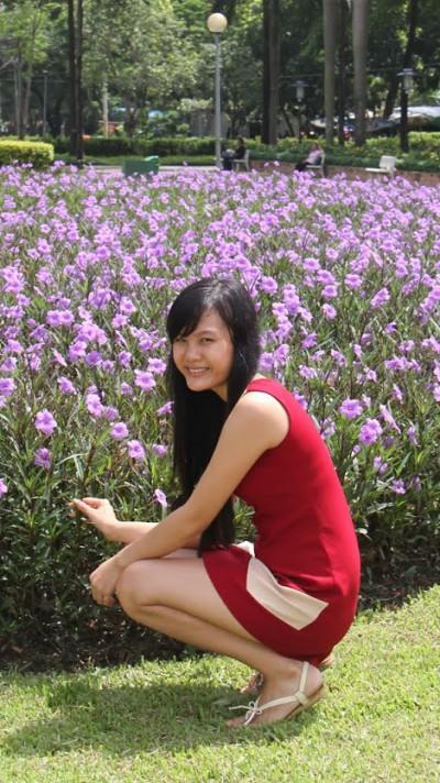 頑張り屋のベトナム女性20代