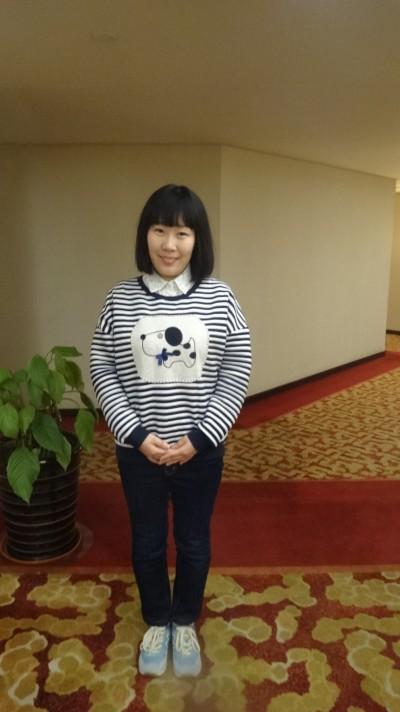 音楽の好きな中国女性30代