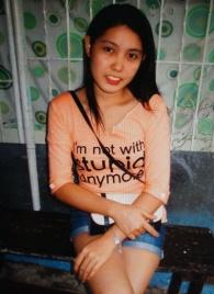 愛らしくてシンプルなフィリピン女性20代