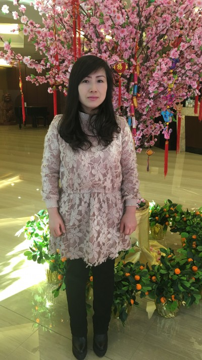 自立心が強く前向きな中国女性30代