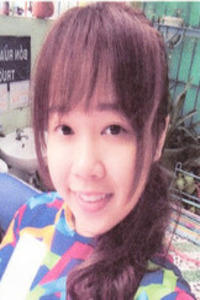 明るいベトナム女性20代