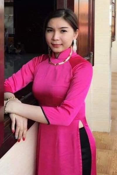 前向きで明るいベトナム女性20代