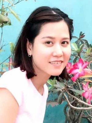 清楚で真面目なベトナム女性20代