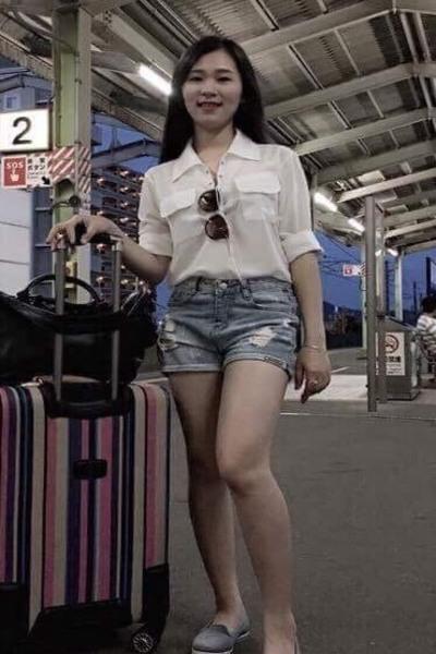 山口県在中スタイルの良い素敵なベトナム女性20代