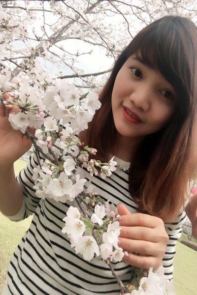 鹿児島県在中の色白で可愛いベトナム女性20代