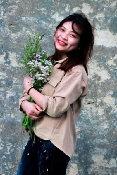 宮城県在中の知的なベトナム女性20代