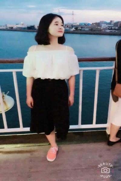 鹿児島県在中のシンプルで飾らない素直なベトナム女性20代