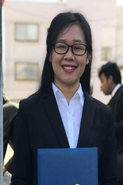 岡山県在中の品格のあるベトナム女性20代