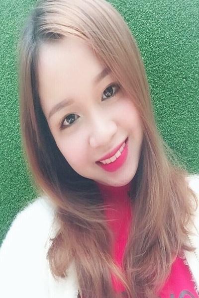 キュウ―トで可愛いいベトナム女性20代