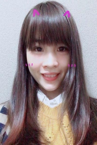 大阪在中のお茶目なベトナム女性20代