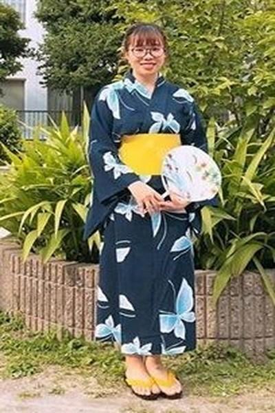 千葉県在中の浴衣が似合うベトナム女性20代