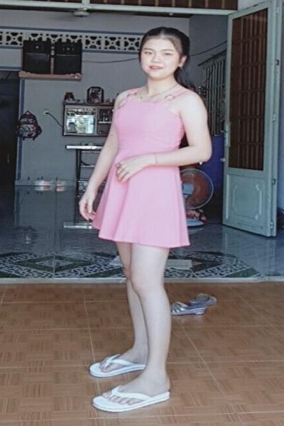 明るくて社交的なベトナム女性10代