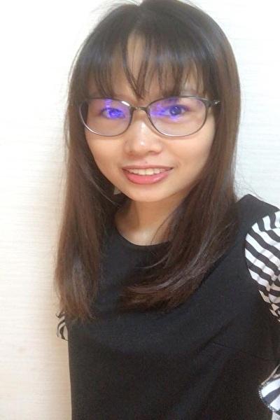 愛知県在中の何事にも努力家のベトナム女性30代
