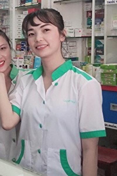 看護師で頑張っているベトナム女性30代