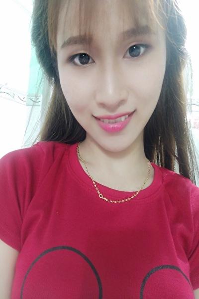 可愛いいベトナム女性10代