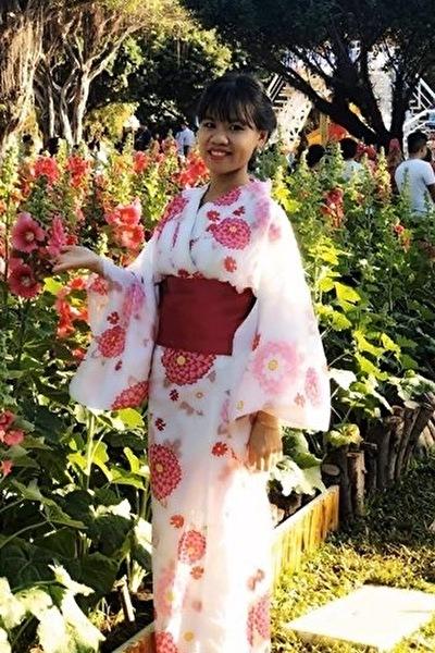 日本語会話1級のベトナム女性20代