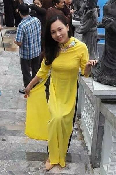 お洒落な大人のベトナム女性30代