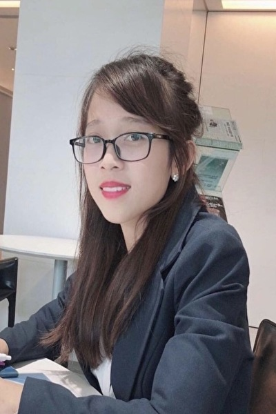 東京在中の勤勉なベトナム女性20代