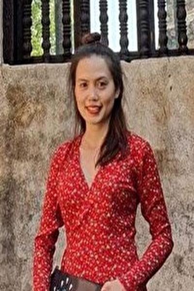 お洒落でスタイル抜群のベトナム女性20代