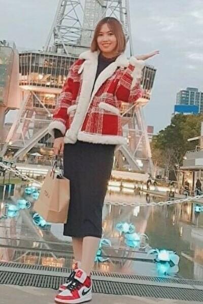 静岡県在中の大家族の中で育った明るいベトナム女性20代